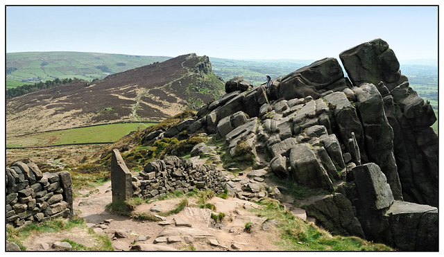2021-0160 - Hen Cloud from The Roaches, Peak District.