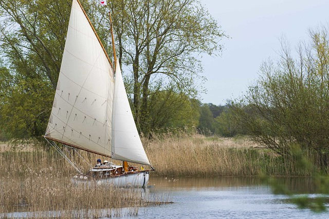 Sailing on the River Waveney