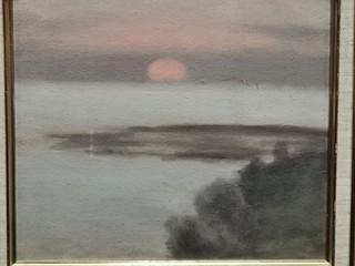 Clarice Beckett Sunset from Black Rock