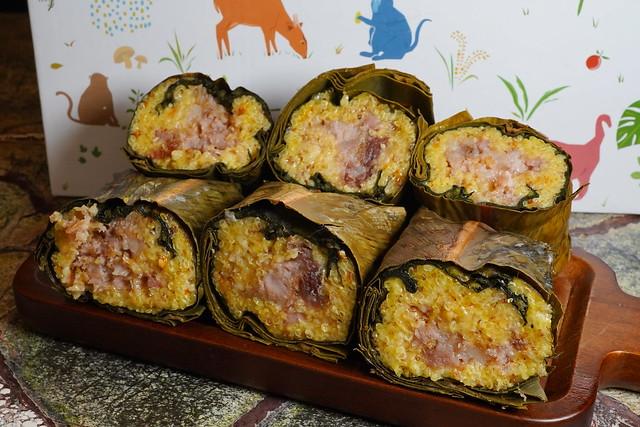 泰源幽谷獼米端午小米粽