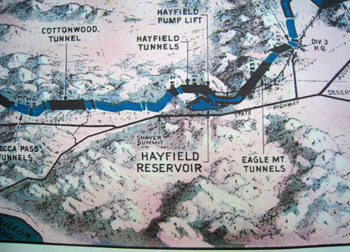 Colorado River Aqueduct Map (0659)
