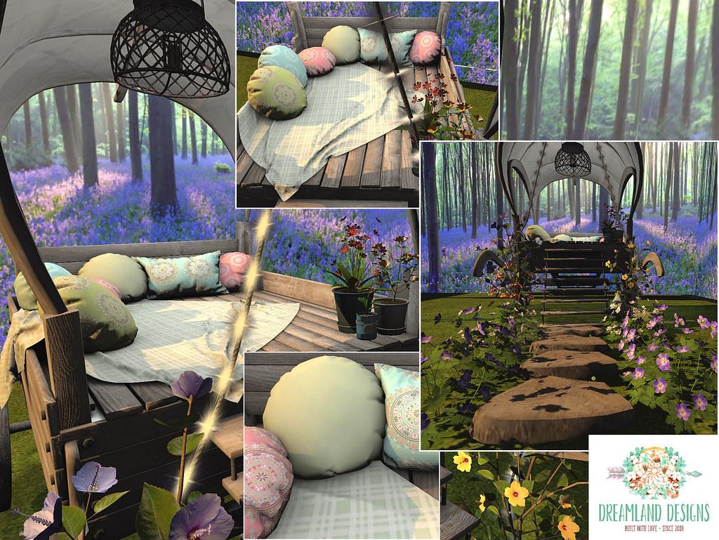 Dreamland Designs – Spring Bohemian Cart