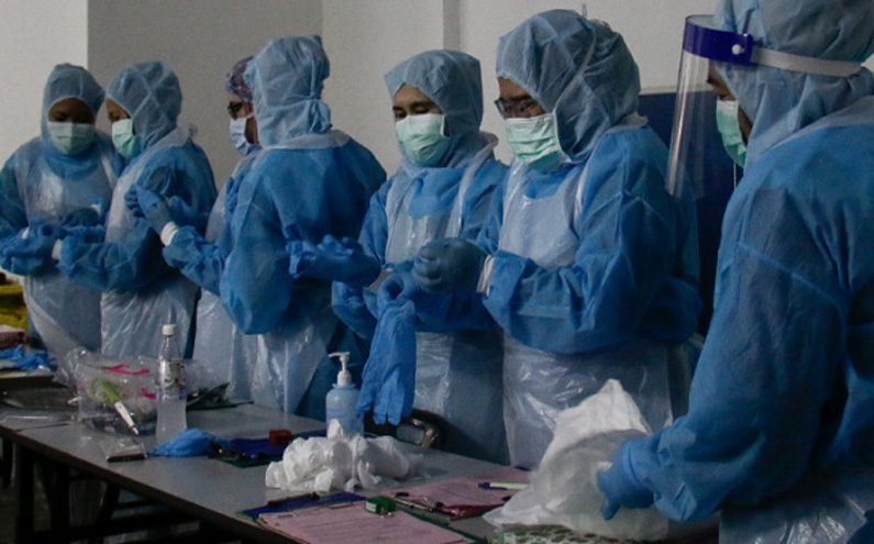 Gov't medical staff overwhelmed and overworked