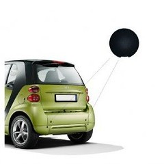 Smart Fortwo 451 Tow Eye cover black
