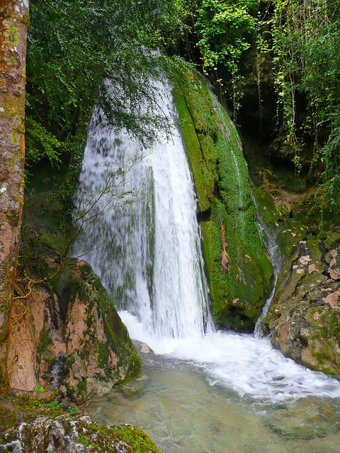 Cascade de la Turasse, ressaut intermédiaire