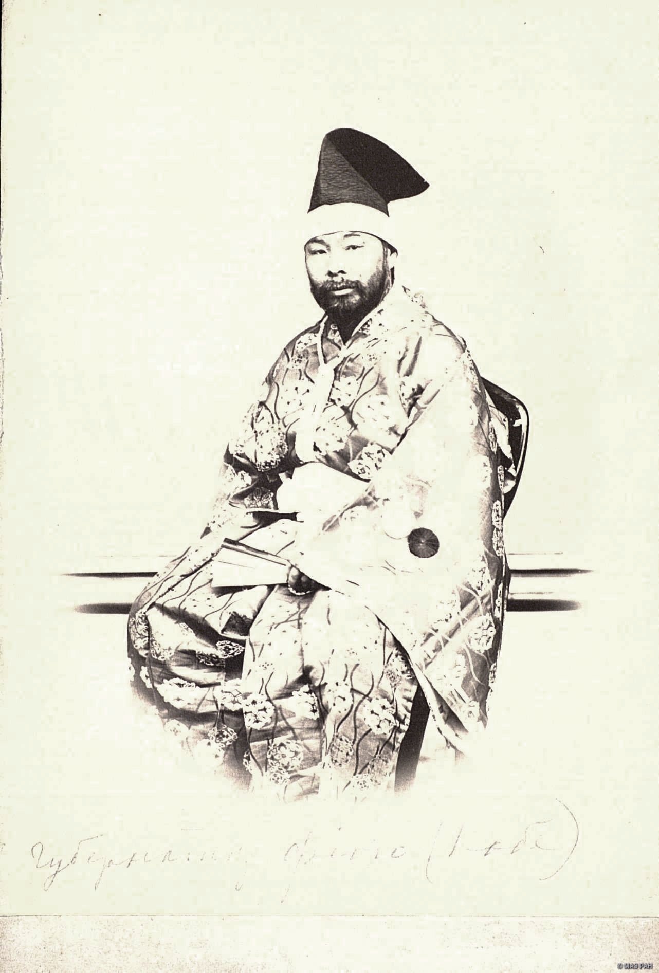 Портрет губернатора Хёго - Кохея Канда