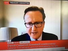 Dodgy Dave Cameron spills the beans