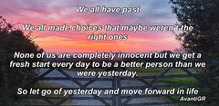 We All have a past...