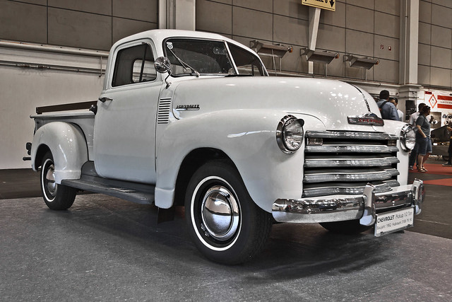 Chevrolet 3100 Pick-Up Truck 1952 (7555)