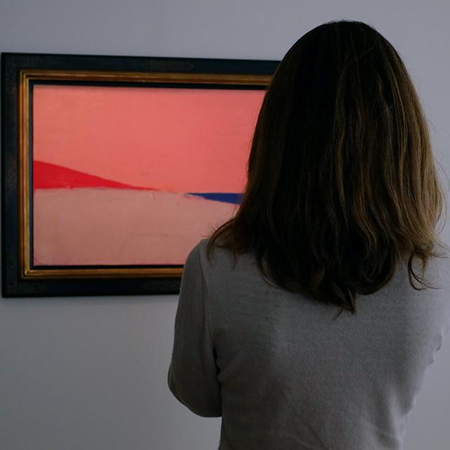 la fenêtre / through window