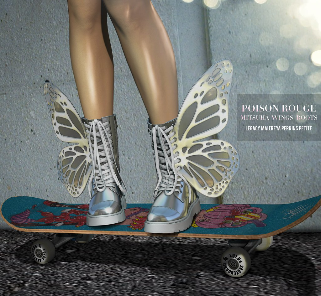 POISON ROUGE Mitsuha Wings Boots