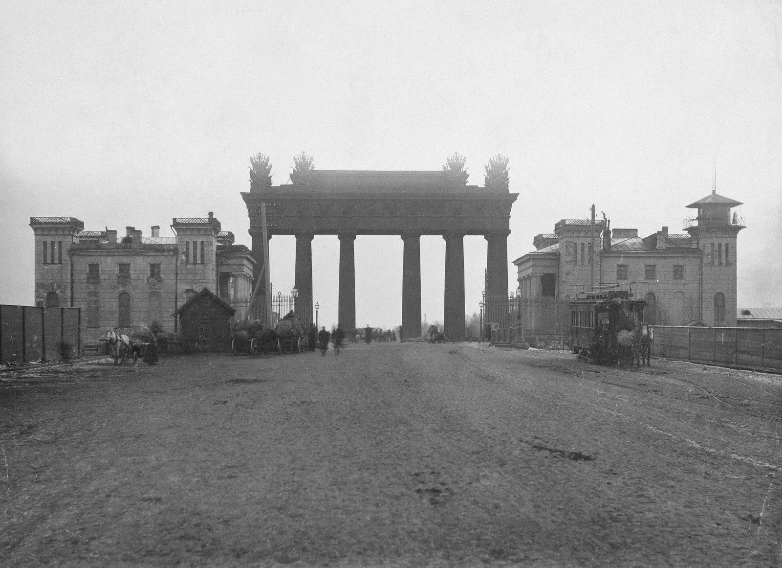 1890-е. Конечная конки у Московских ворот
