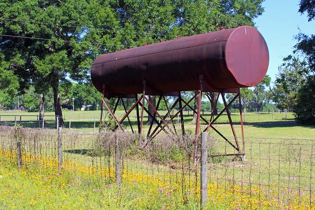 Water Tank, near Williston