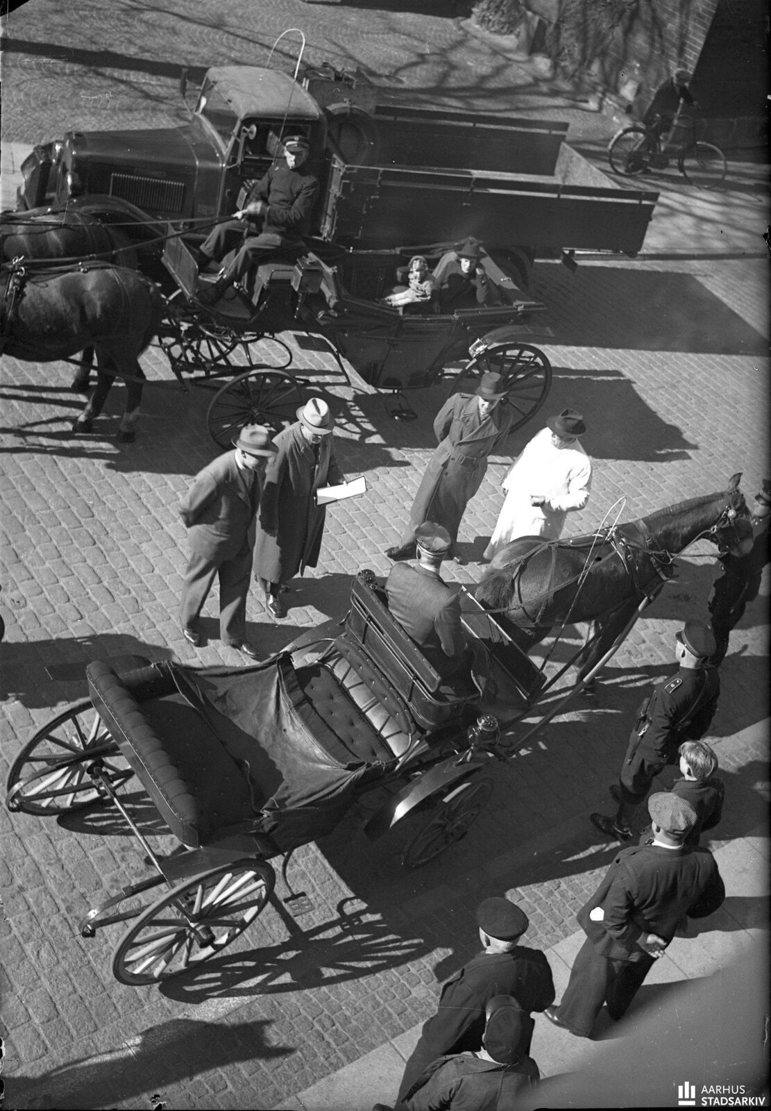 1943. Полицейская проверка