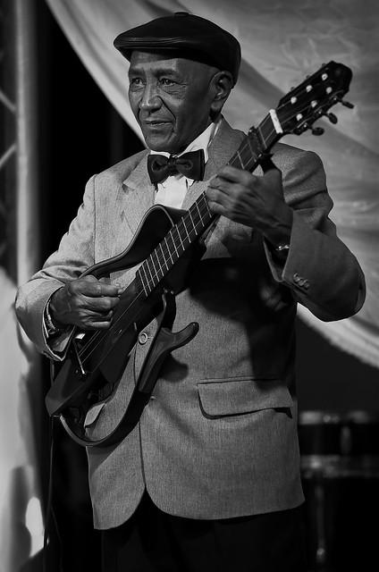 Guitar Player for Septeto Habanero