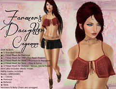 Charisma's Designs - Farmer's Daughter in Cayenne