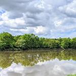 Cloudy reflections at Preston