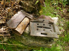The remains of timeless iron tool relics