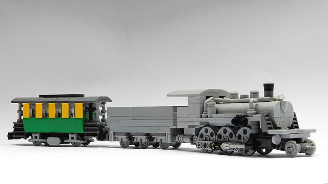 Updated 2-6-0 / Mogul Steam Locomotive (MOC)