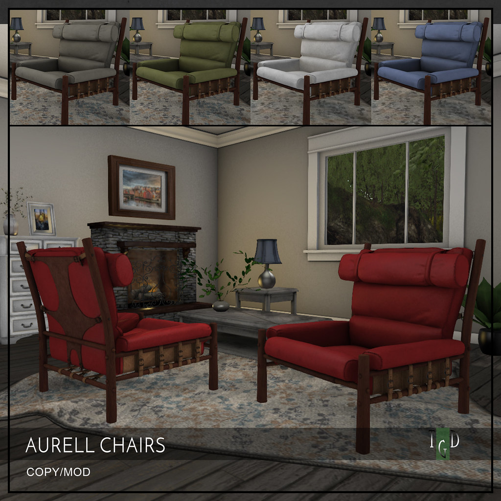 Aurell Chairs – In-Store Exclusive for Evolve Event 50% Off