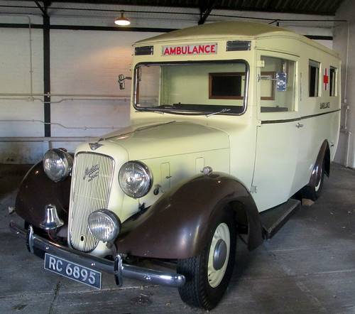Austin Ambulance, Bletchley Park