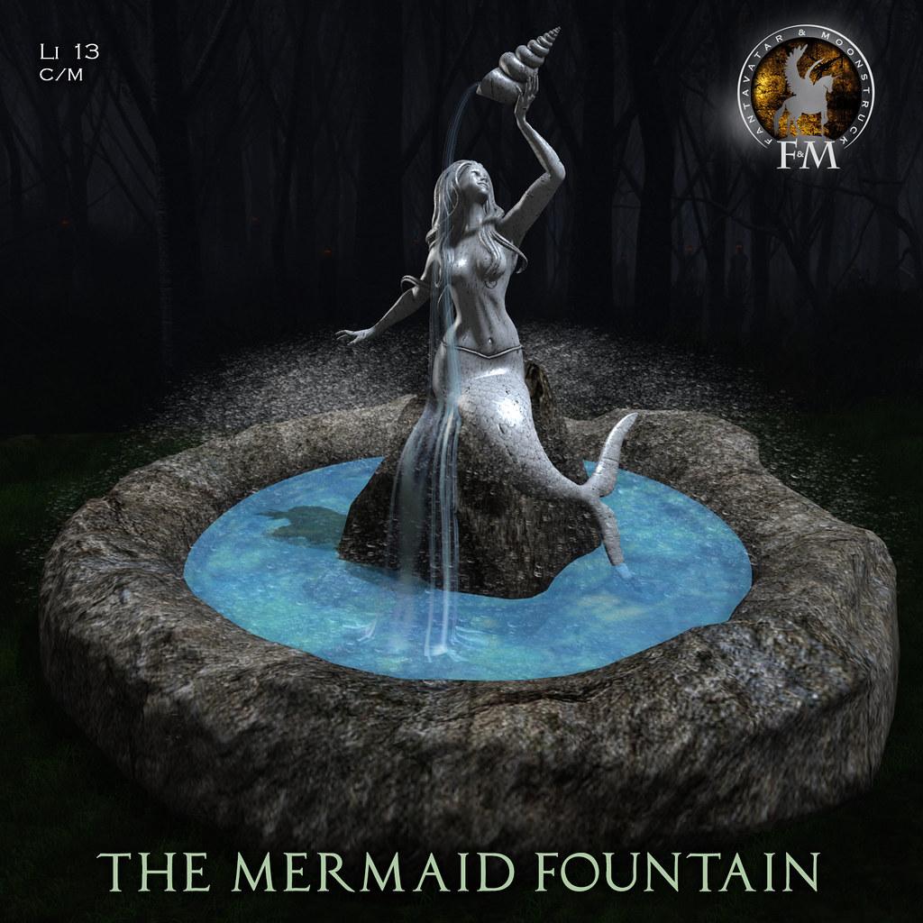 F&M * The Mermaid Fountain