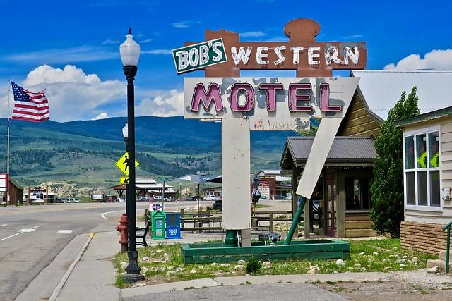 Bob's Western Motel, Kemmling, CO