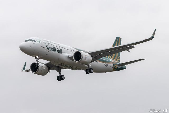 A320-251N SaudiGulf Airlines // VP-CGE (F-WWBF)
