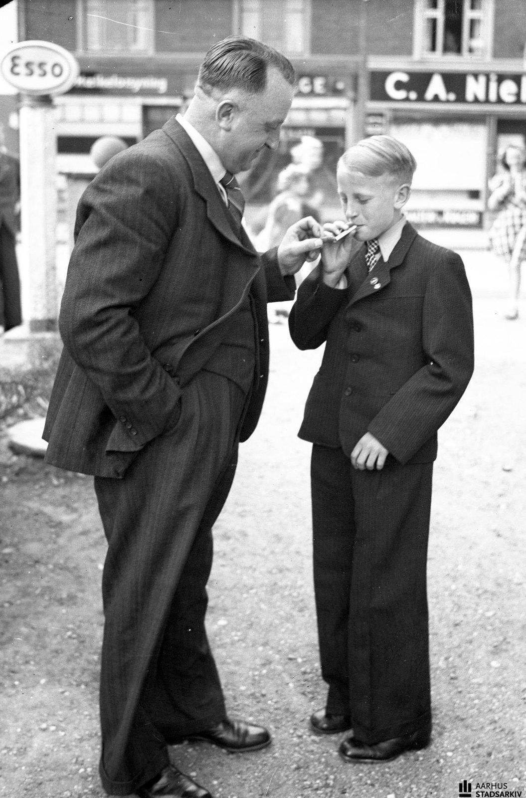 1943. Отец и сын