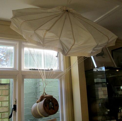 Pigeon Parachute, Bletchley Park