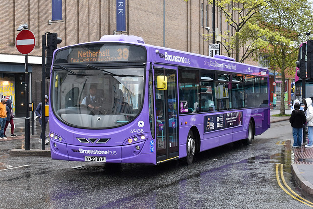 First Leicester Wright Eclipse Urban Volvo B7RLE 69438 WX59 BYP