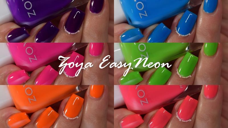 Zoya EasyNeon Collection