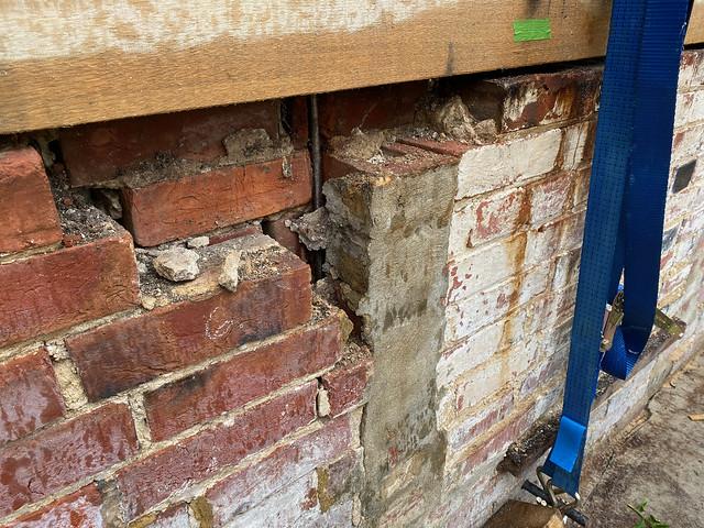 Crumbling wall - 2