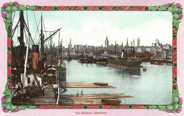 Aberdeen, the Harbour ...