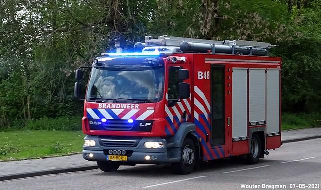DAF LF fire truck (2014)