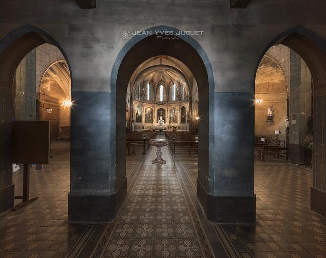Église Notre Dame de la Jonquière (N-D de l'Assomption à Lisle-sur-Tarn - France)