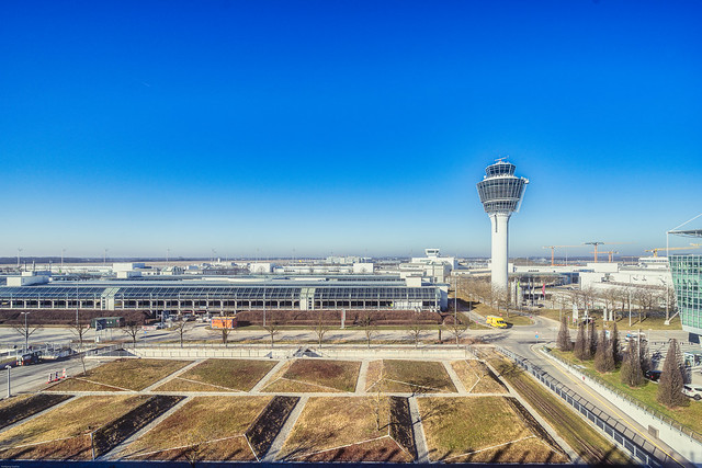 Terminal 1 Area_Lockdown MUC