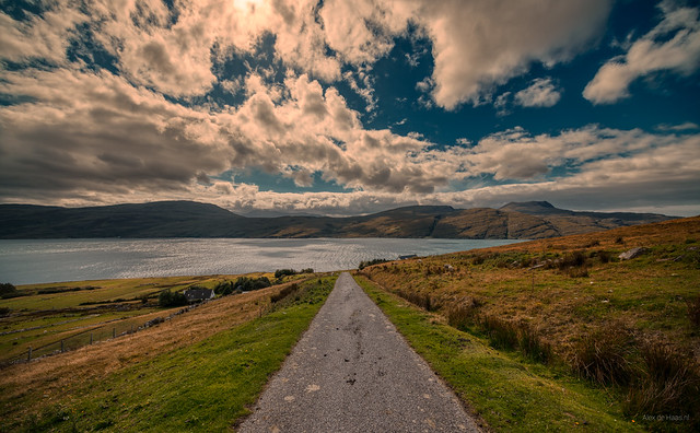 Loch Broom close to Ullapool, Scotland.