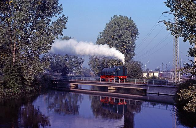 Werklok Nr.2 van de Dampfkraftwerke Altbach (D), 1981.