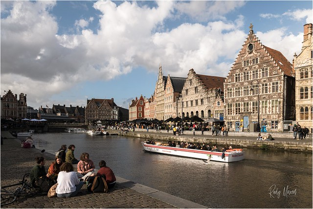 17 May 2021: Ghent finds back its hustle and bustle now that the positive Corona news continues…