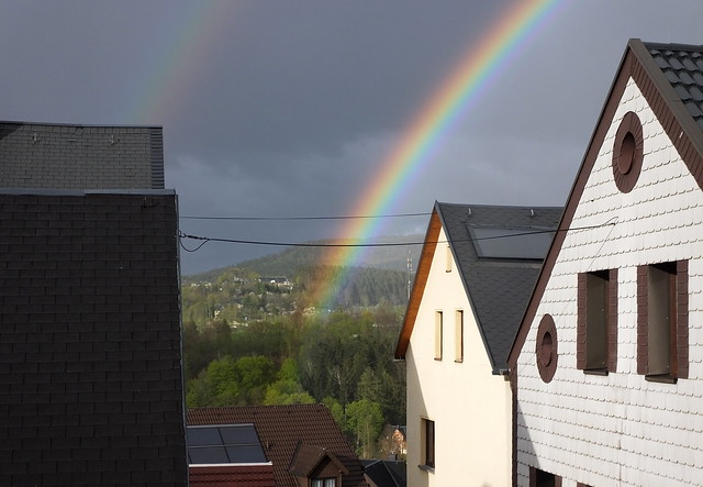 the pot of gold is at my house... lol...