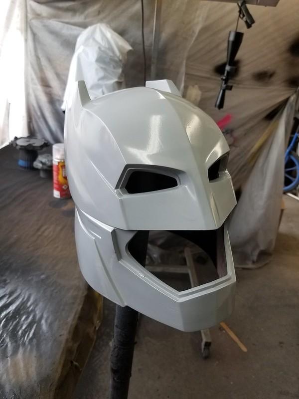 Printed Helmet in Primer