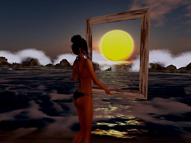 A Framed Sunset