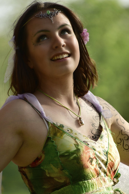 180421 Haarzuilens - Elfia 2018 - The girl with the tattooed body 1002