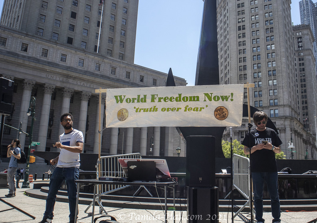 World Wide Rally for Freedom NYC