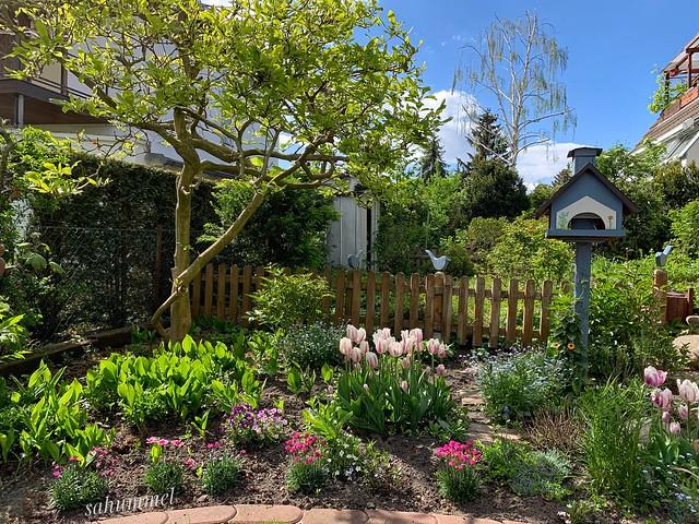 Ein Tag im Garten
