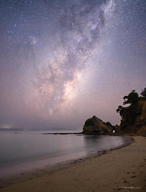 Rotoroa Milky Way