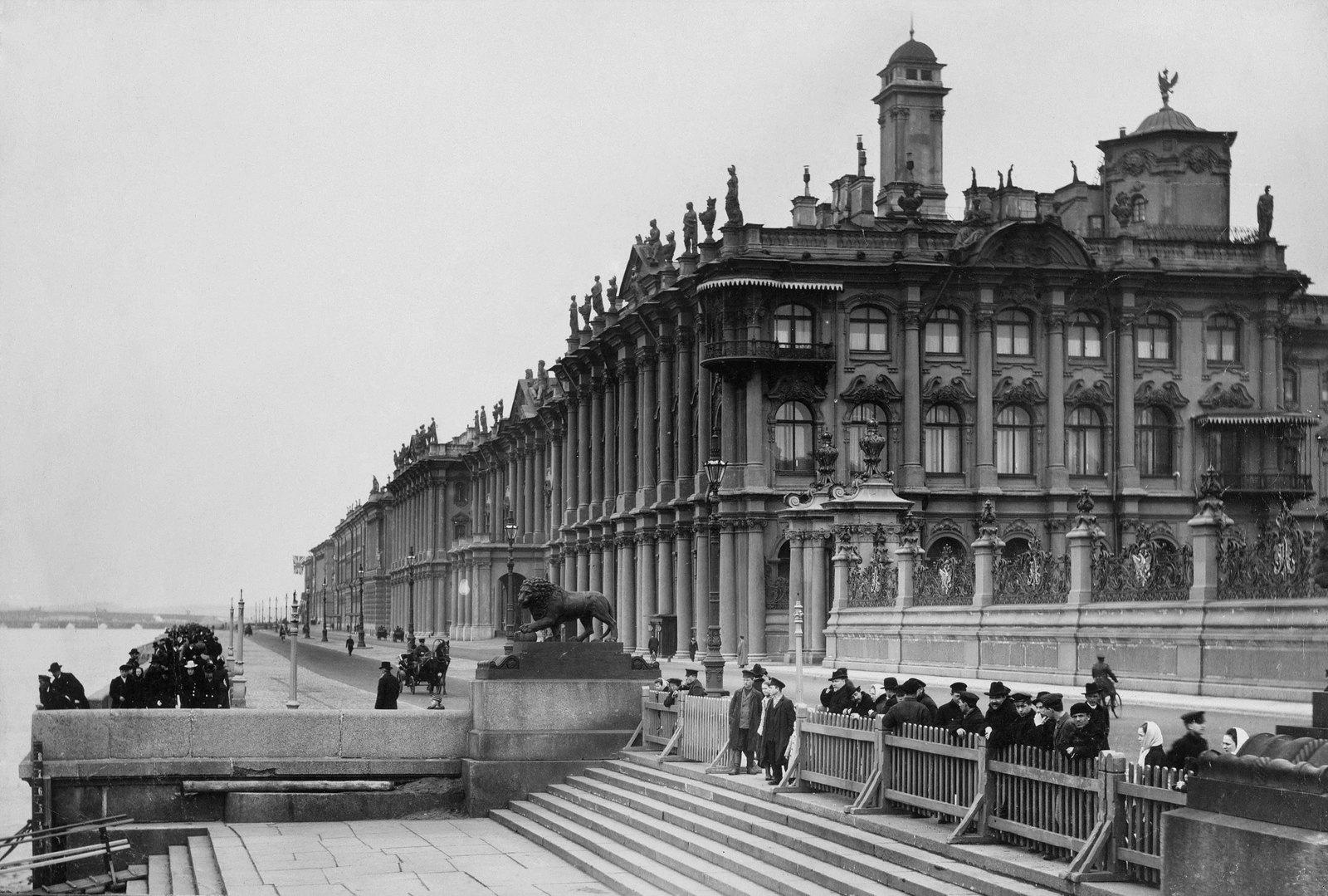 1902. Дворцовая набережная