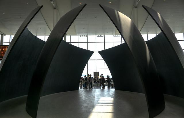 Tilted Spheres by Richard Serra