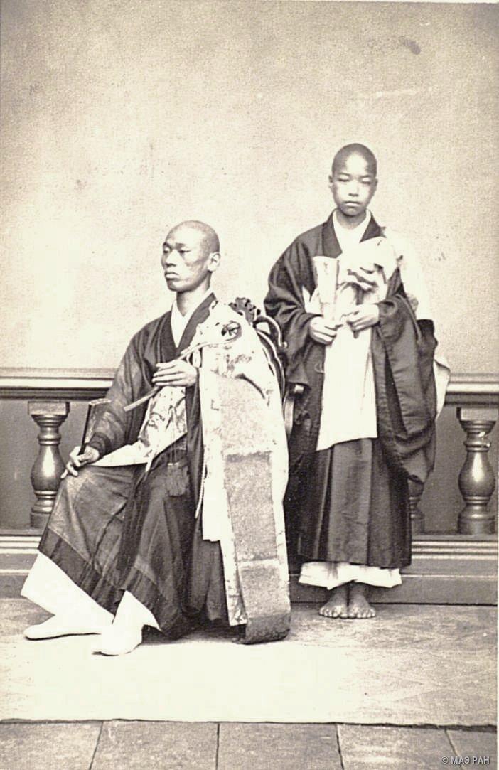 Портрет буддийских священнослужителей